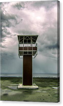 Lifeguard Post Canvas Print by Stelios Kleanthous