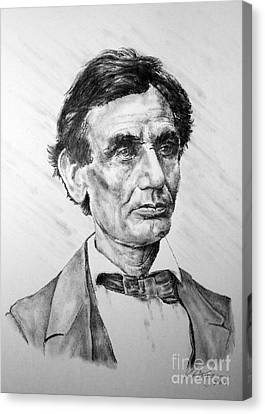 Lincoln Canvas Print by Roy Anthony Kaelin