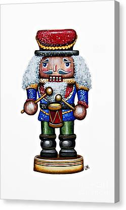 Little Drummer Boy Canvas Print by Christina Meeusen