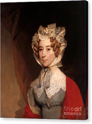 Louisa Adams, First Lady Canvas Print by Science Source