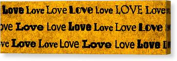 Love... Canvas Print by Lubos Kavka
