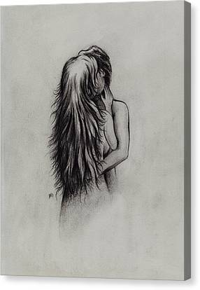 Lovers Canvas Print by Rachel Christine Nowicki