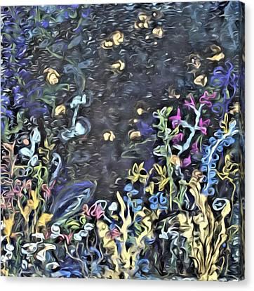 Lucciola Canvas Print by  Judy Bernier