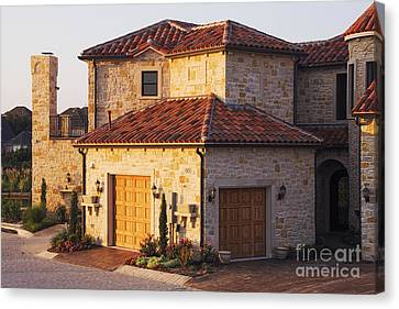 Luxury Home Canvas Print by Jeremy Woodhouse