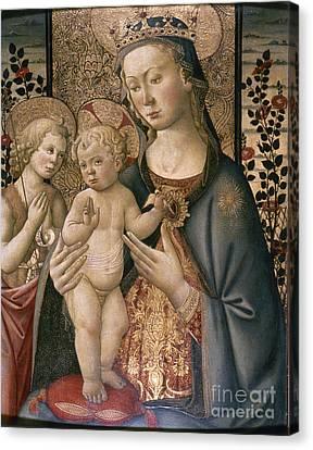 Madonna & Child Canvas Print by Granger