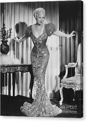 Mae West (1892-1980) Canvas Print by Granger