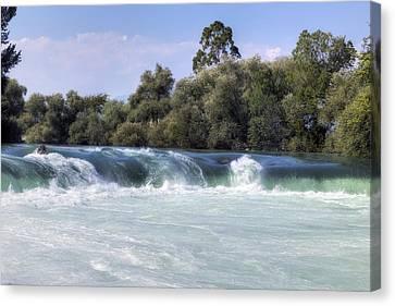 Manavgat Waterfall - Turkey Canvas Print by Joana Kruse