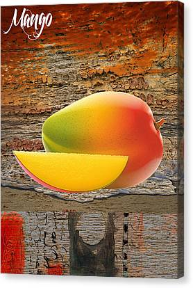 Mango Collection Canvas Print by Marvin Blaine