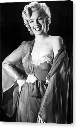 Marilyn Monroe Canvas Print by American School