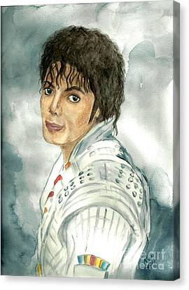Michael Jackson - Captain Eo Canvas Print by Nicole Wang