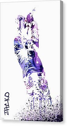 Michael Jackson Canvas Print by Sir Josef - Social Critic - ART
