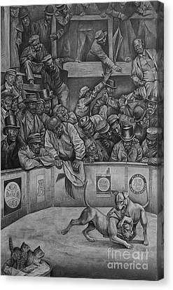 Michael Vick Canvas Print by Curtis James