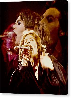 Mick Trio Canvas Print by Sandy Ostroff