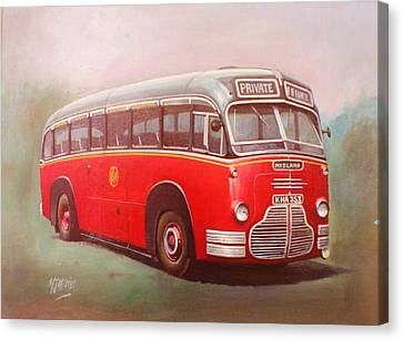 Midland Red C1 Canvas Print by Mike  Jeffries