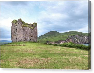 Minard Castle - Ireland Canvas Print by Joana Kruse