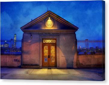 Mit Sailing Pavilion - Boston Canvas Print by Joann Vitali