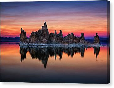 Mono Lake Canvas Print by Andrew Soundarajan