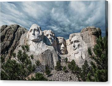 Mount Rushmore II Canvas Print by Tom Mc Nemar