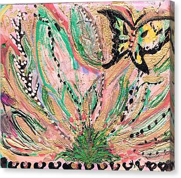 Natural Emergence Canvas Print by Anne-Elizabeth Whiteway