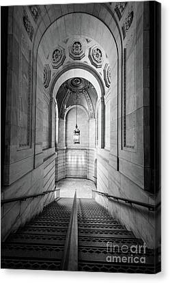 New York Public Library Canvas Print by Inge Johnsson
