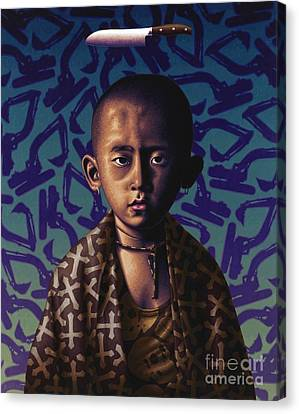 Novice Punk Canvas Print by Stephen Hall