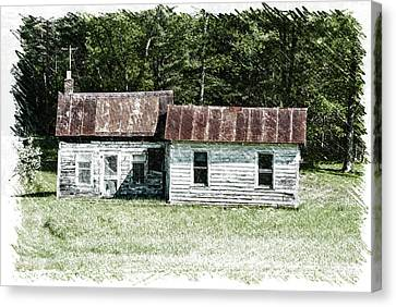 Old Barn Canvas Print by William Reade