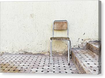 Old Chair Canvas Print by Tom Gowanlock