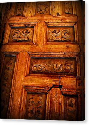 Old Door Canvas Print by Perry Webster