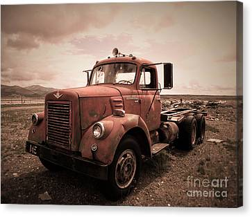 Old Truck #2 Canvas Print by Christina Stanley