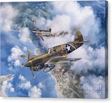 One Off At Darwin Canvas Print by Randy Green