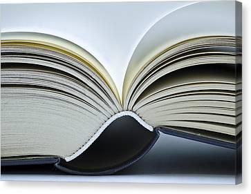 Open Book Canvas Print by Frank Tschakert