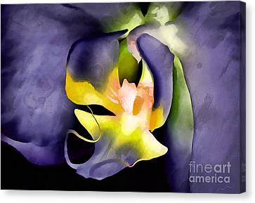 Orchid Of Fantasy Canvas Print by Krissy Katsimbras