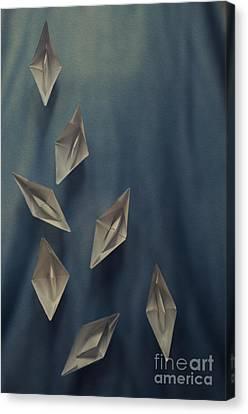 Paper Boats Canvas Print by Jelena Jovanovic