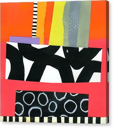 Pattern Grid # 15 Canvas Print by Jane Davies