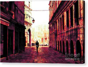Perdition Canvas Print by John Rizzuto