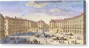 Place Des Victoires Canvas Print by Jacques Rigaud