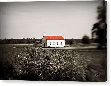 Plantation Church Canvas Print by Scott Pellegrin