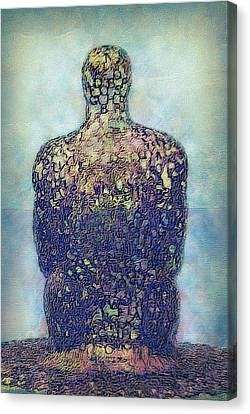 Ponder Canvas Print by Jack Zulli