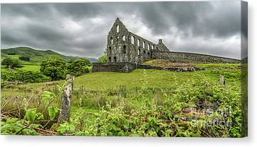 Pont Y Pandy Mill Canvas Print by Adrian Evans
