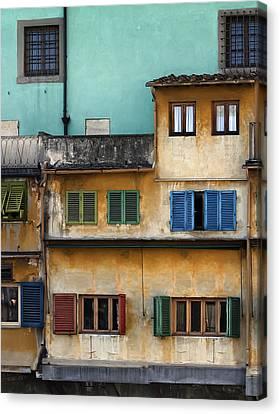 Ponte Veccio Canvas Print by Al Hurley