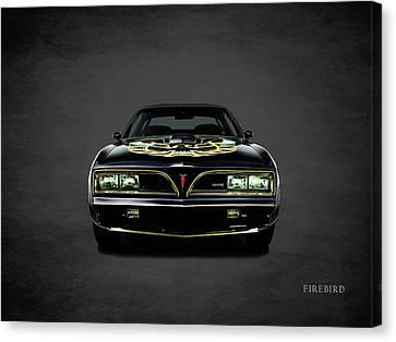 Pontiac Firebird Trans Am Canvas Print by Mark Rogan
