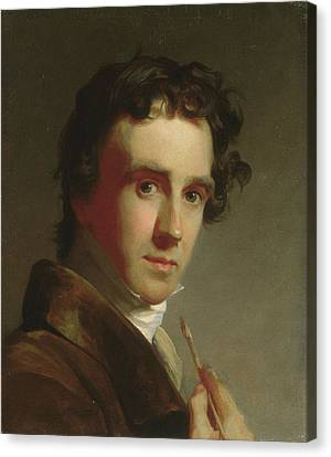 Portrait Of The Artist Canvas Print by Thomas Sully
