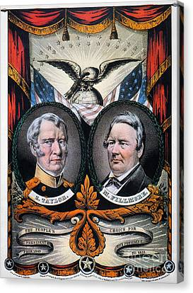 Presidential Campaign, 1848 Canvas Print by Granger