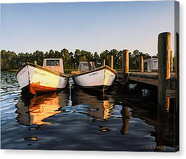 Prime Of Life Canvas Print by Rick McKinney