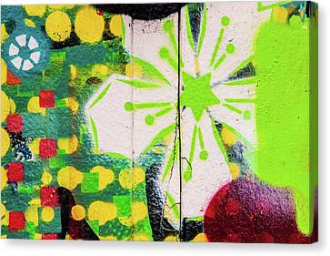 Psychedelic Street Art Canvas Print by Art Block Collections