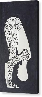 Reach Canvas Print by Sara Young