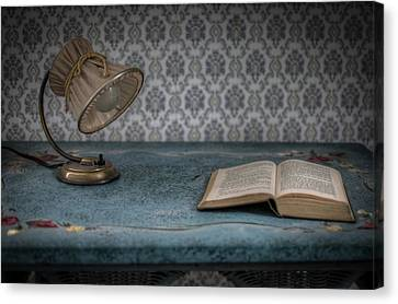 Reading Light Canvas Print by Nathan Wright