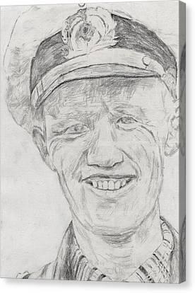 Reinhard Hardegen Canvas Print by Dennis Larson