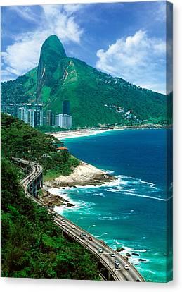 Rio De Janeiro Brazil Canvas Print by Utah Images