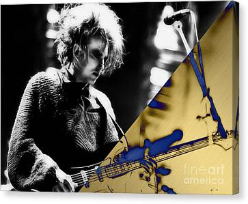 Robert Smith Collection Canvas Print by Marvin Blaine